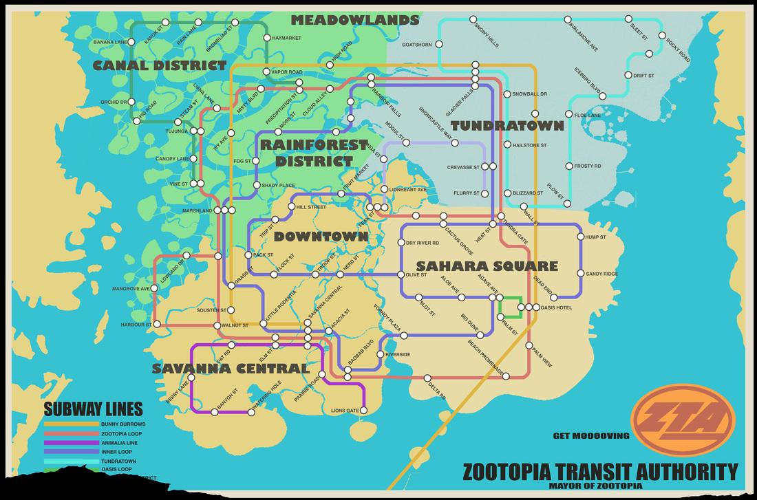 ZTA-map